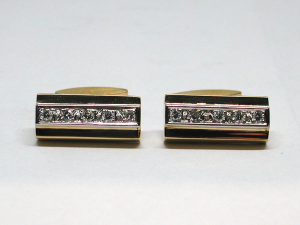 Mens Cufflinks 1.00ct.