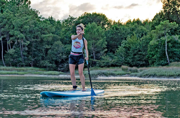 BLACK FRIDAY DEAL 10'0 Tough Tec Sup + Leash + Paddle