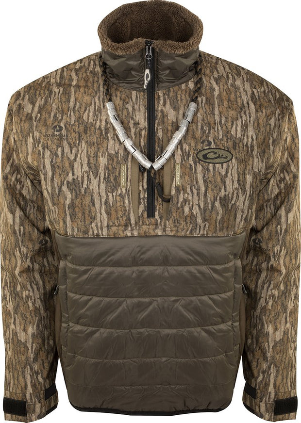DRAKE WATERFOWL LST Guardian Flex™ Double Down Eqwader™ 1/4 Zip