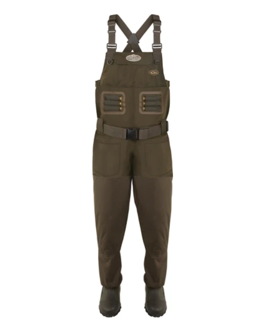 Drake Waterfowl Eqwader 1600 Breathable Wader with Tear-Away Liner [Regular]
