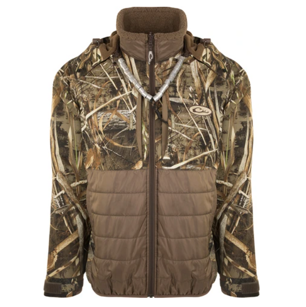 DRAKE WATERFOWL LST Guardian Flex™ Double Down Eqwader™ Full Zip with Hood