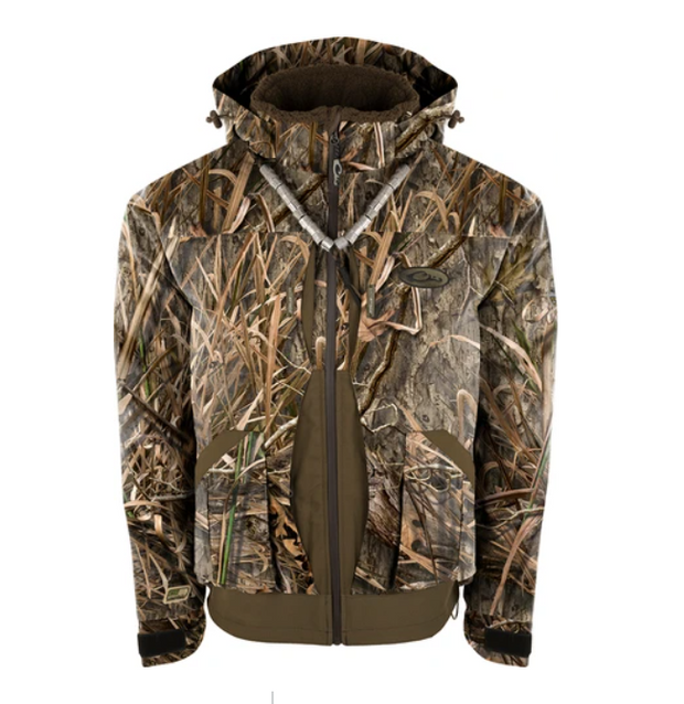 DRAKE WATERFOWL Guardian Elite™ 3-in-1 Systems Jacket [MOSSY OAK SHADOW/GRASS HABIT]
