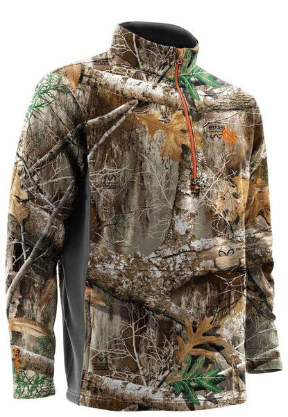 Nomad Southbounder 1/4 Zip - Realtree Edge