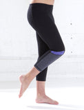 GIRLS ATHLETIC YOGA CAPRI LEGGING