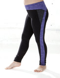 GIRLS 2-6 ATHLETIC CUT AND SEW LEGGING