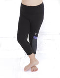GIRLS 2-6 ATHLETIC YOGA CAPRI LEGGING