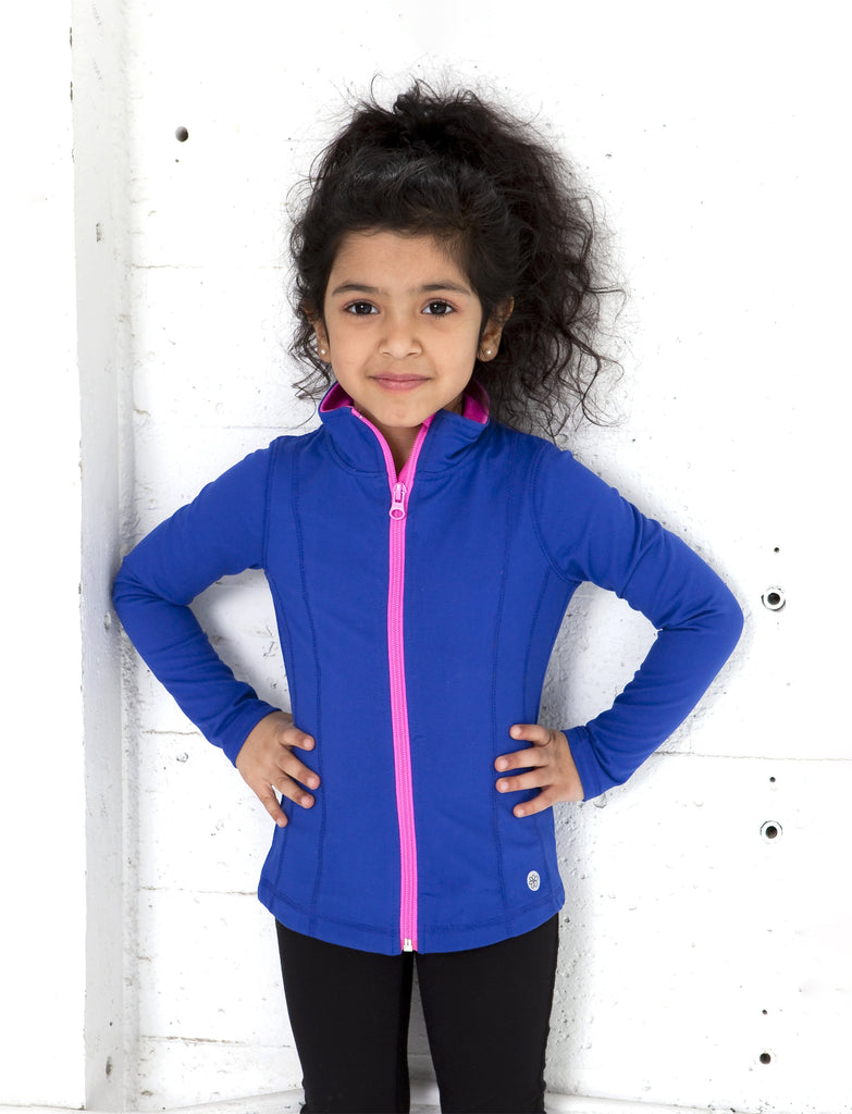 GIRLS 2-6 YOGA JACKET