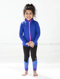 GIRLS 2-6 ELASTIC TRIM CUT AND SEW LEGGING