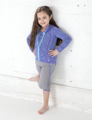 GIRLS 2-6 RETRO CAPRI LEGGING