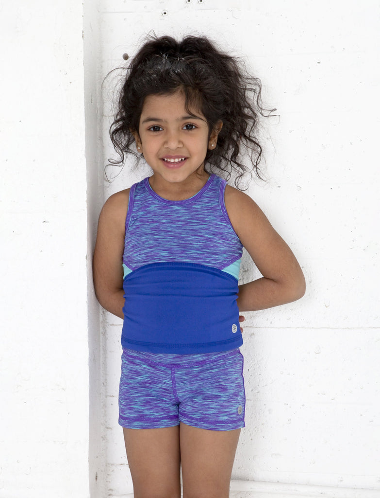 GIRLS 2-6 COLORBLOCKED TANK