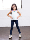 GIRLS 2-6 MOTO LEGGING