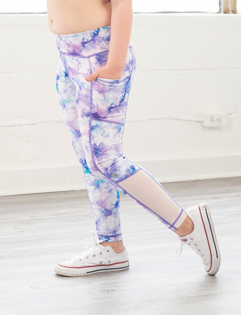 GIRLS 2-6 PRINTED SIDE POCKET LEGGING