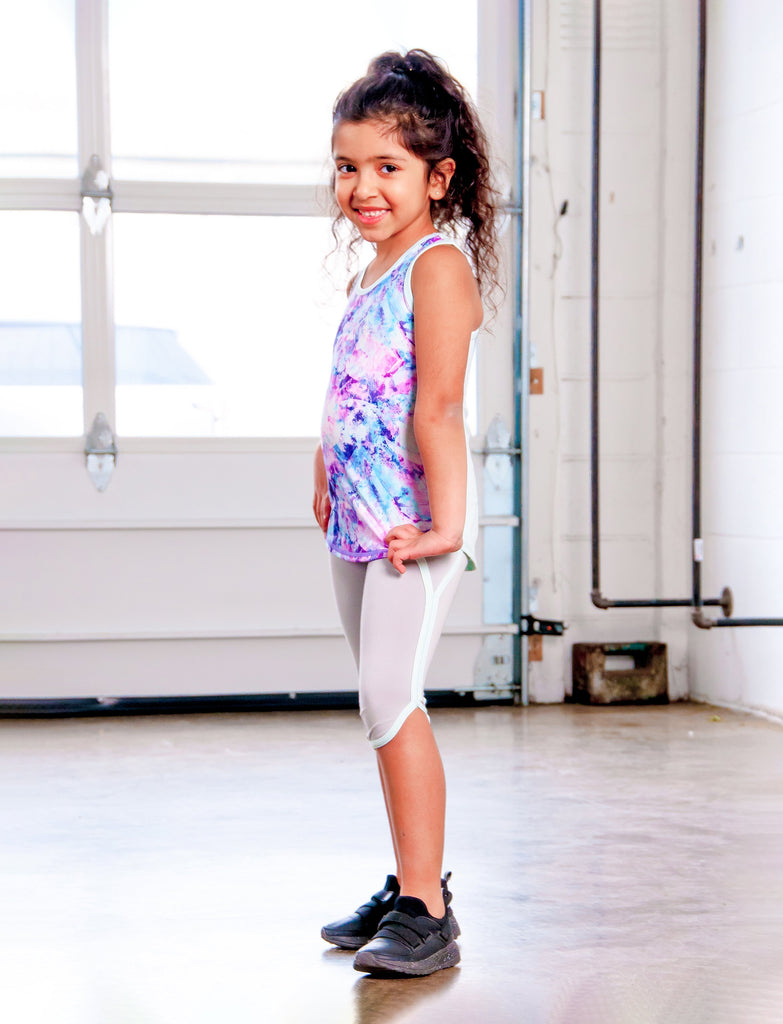 GIRLS 2-6 RETRO CAPRI LEGGINGS