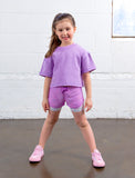 GIRLS 2-6 DOUBLE LAYER MESH SHORTS
