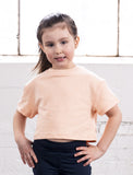 GIRLS 2-6 CROP CREW SWEATSHIRT