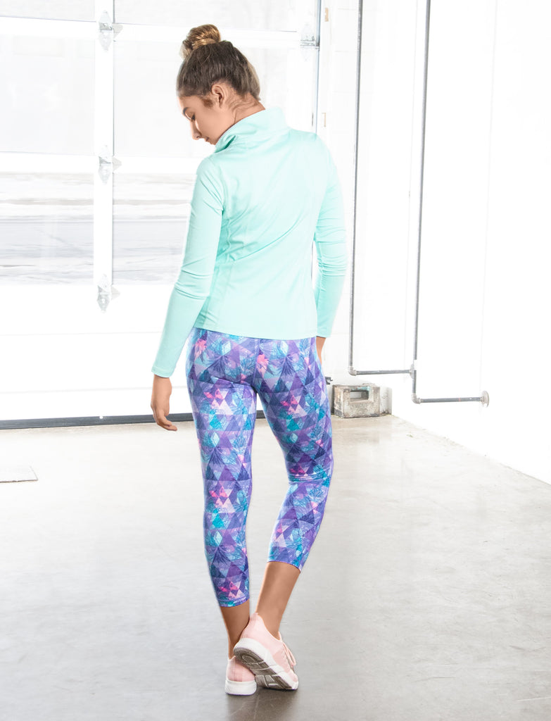 GIRLS PERFECTLY PINEAPPLE CAPRI LEGGING