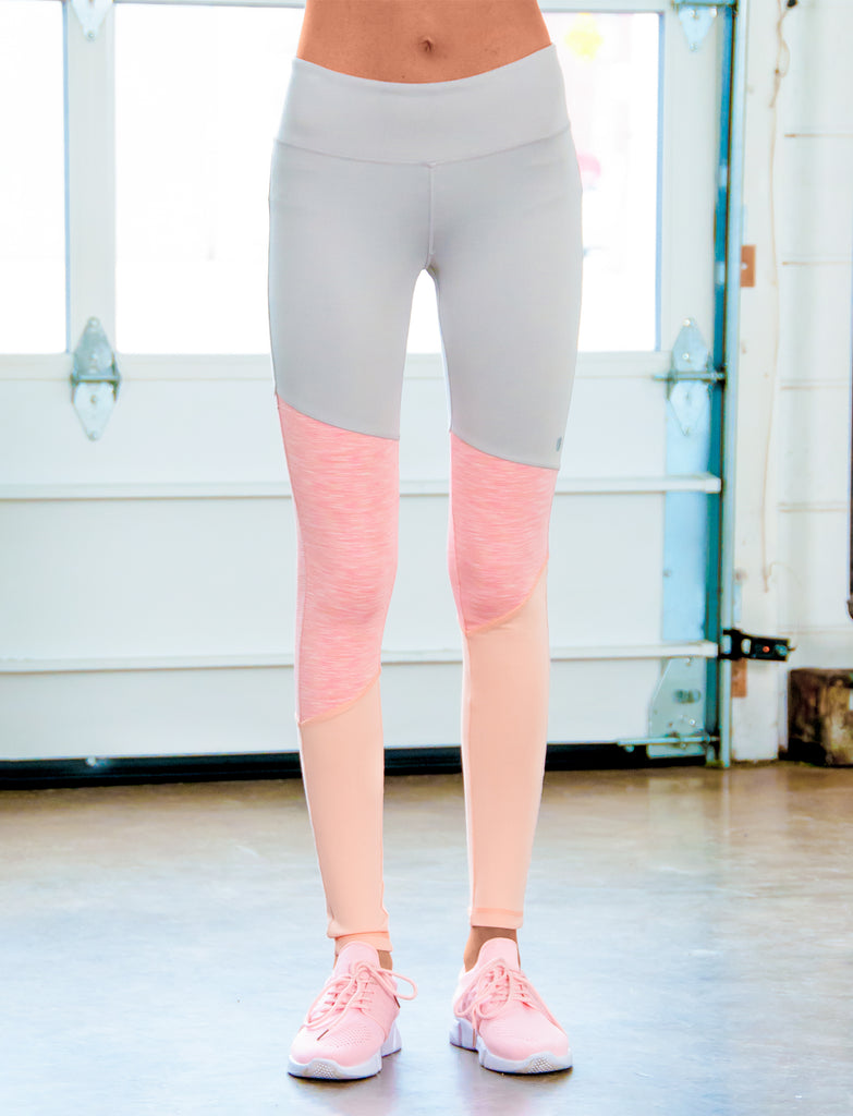 GIRLS ASYMMETRICAL CUT AND SEW LEGGING