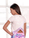 GIRLS OPEN BACK ACTIVE T