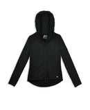 GIRLS HOODED YOGA JACKET