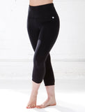 LADIES HIGH RISE YOGA CROP LEGGING