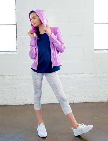 GIRLS HOODED JACKET