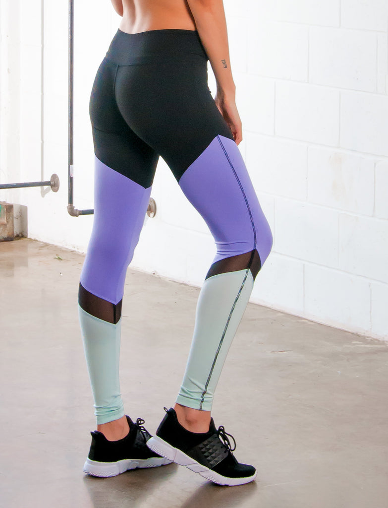 LADIES CUT AND SEW LEGGING WITH MESH