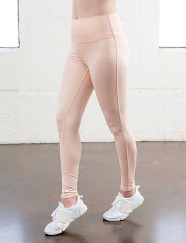 LADIES HIGH RISE COATED LEGGINGS