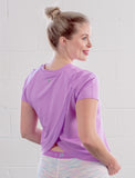 LADIES OPEN BACK ACTIVE T