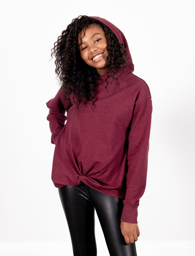 GIRLS KNOTTED SWEATSHIRT