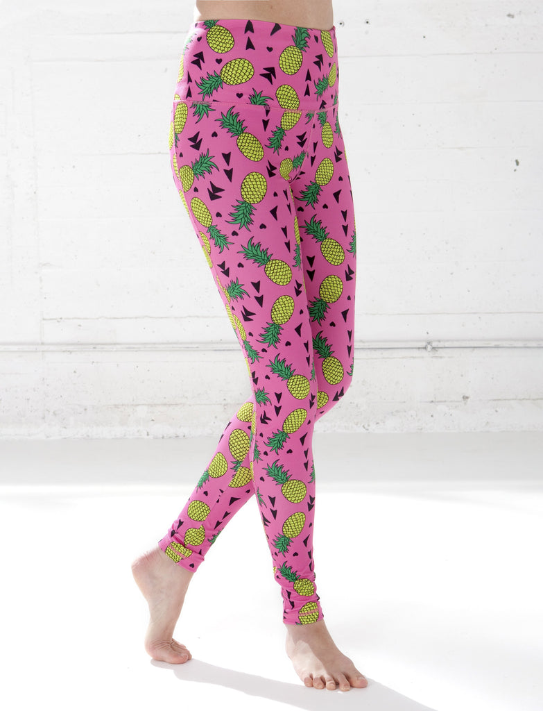 LADIES HIGH RISE NOVELTY LEGGING