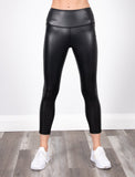 LADIES LEATHER LIKE LEGGING