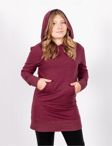 GIRLS HOODED TUNIC DRESS