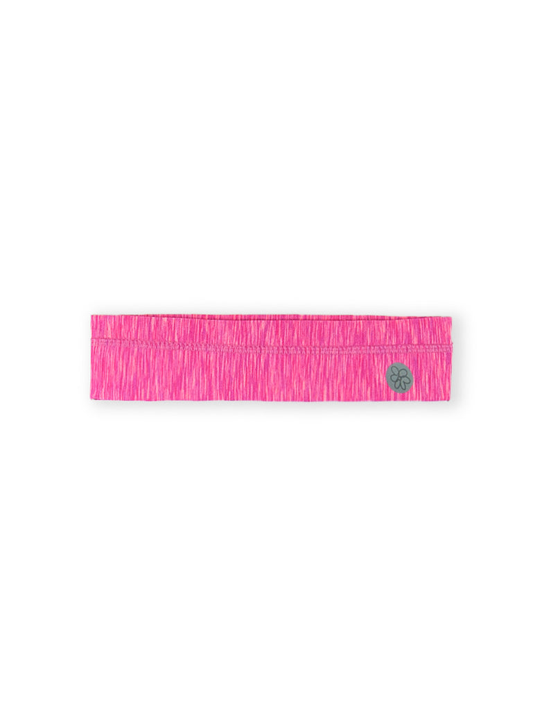GIRLS PINK HEATHERED HEADBAND