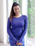 LADIES SEAMLESS WARM UP T