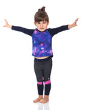 INFANT GIRLS ELASTIC WAIST CUT AND SEW LEGGING