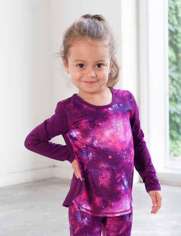 GIRLS 2-6 LONG SLEEVE ACTIVE TEE