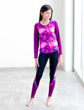 GIRLS LONG SLEEVE ACTIVE TEE