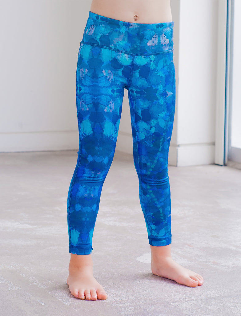 GIRLS 2-6 ALLOVER PRINT LEGGINGS