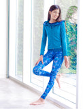 GIRLS ALLOVER PRINT LEGGINGS