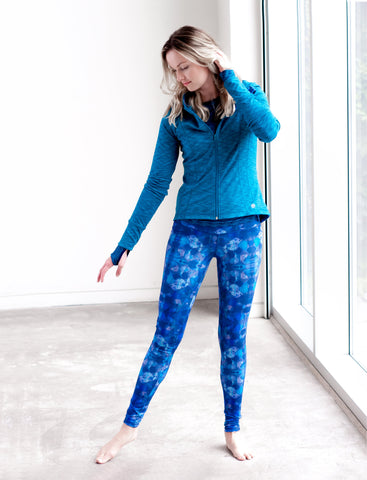 LADIES ALLOVER PRINT LEGGINGS