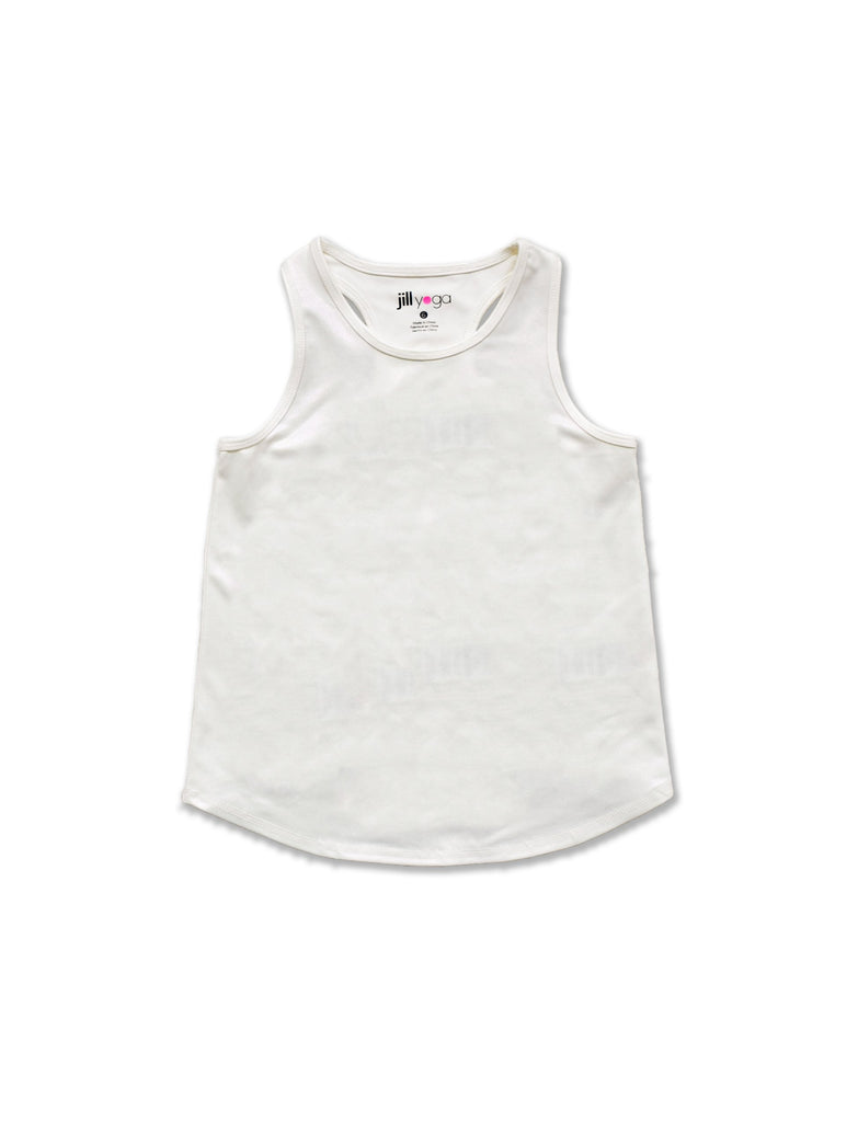 NTM X Jill Yoga GIRLS OPEN BACK TANK