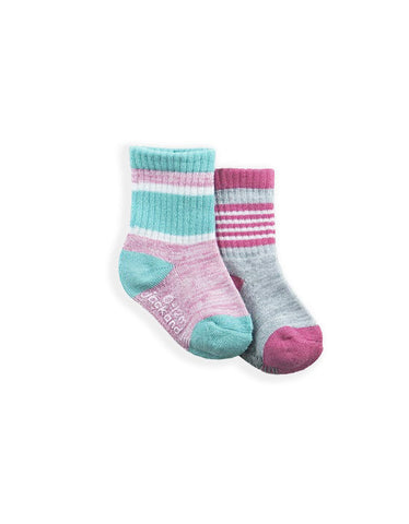 INFANT GIRLS FASHION SOCKS (2 PACK)