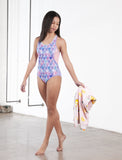 GIRLS RACERBACK ONE PIECE