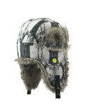 BOY'S 4-16 PRINTED TRAPPER W/ FAUX FUR