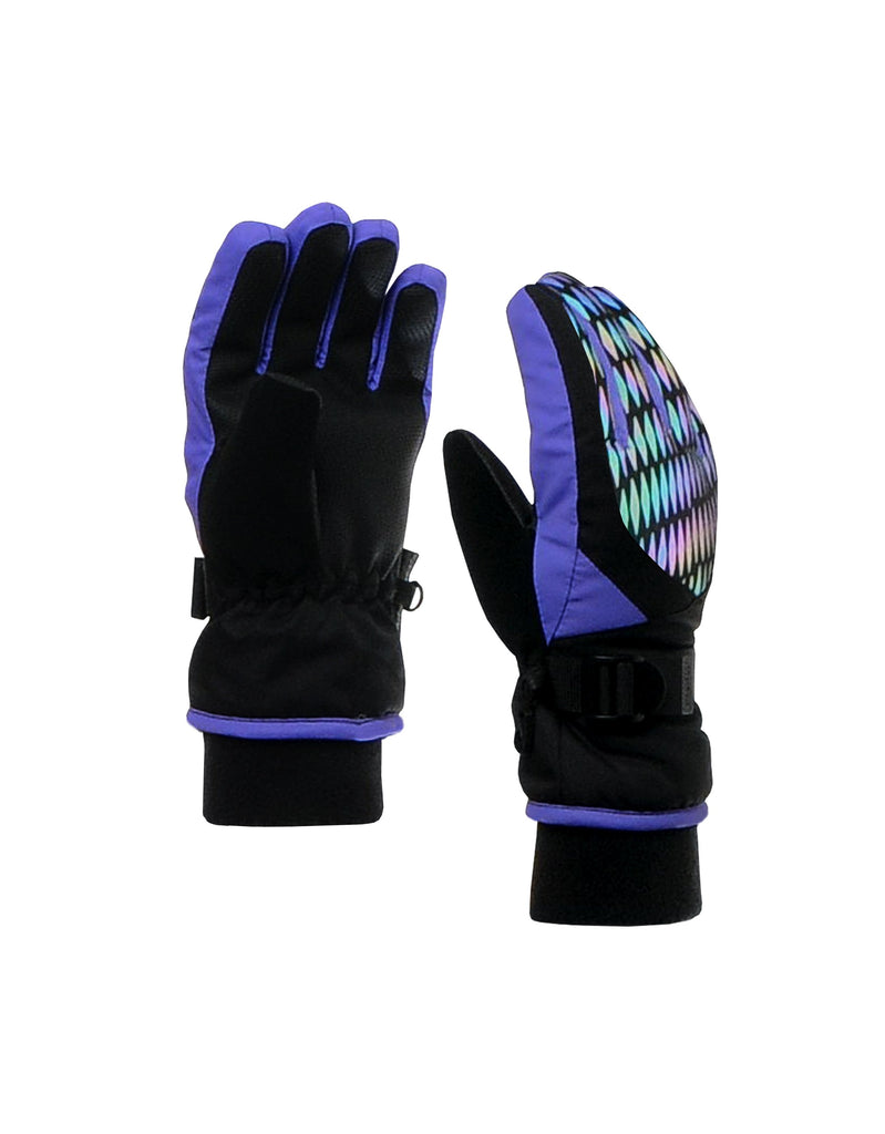 GIRLS 4-16 REFLECTIVE PRINT GLOVE
