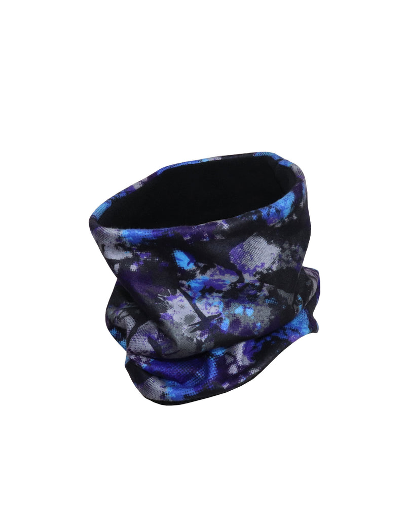 BOYS PRINTED REVERSIBLE FLEECE NECK WARMER