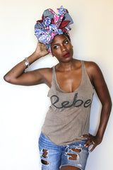 Printed Head wraps
