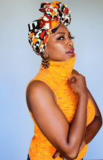 Retro Queen Head Wrap