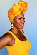 No Shade Only Sunshine head wrap
