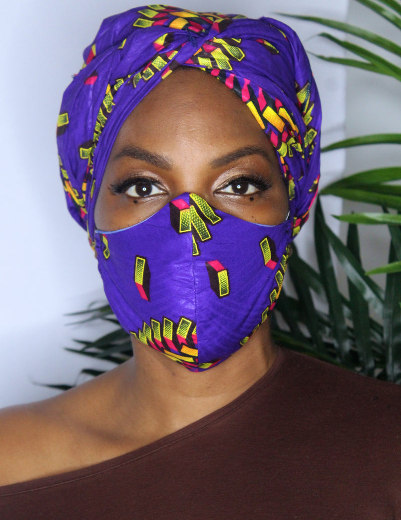 Rich in Royalty Face Mask